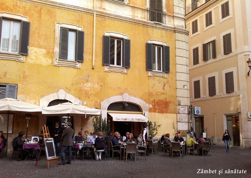 cafenea la roma