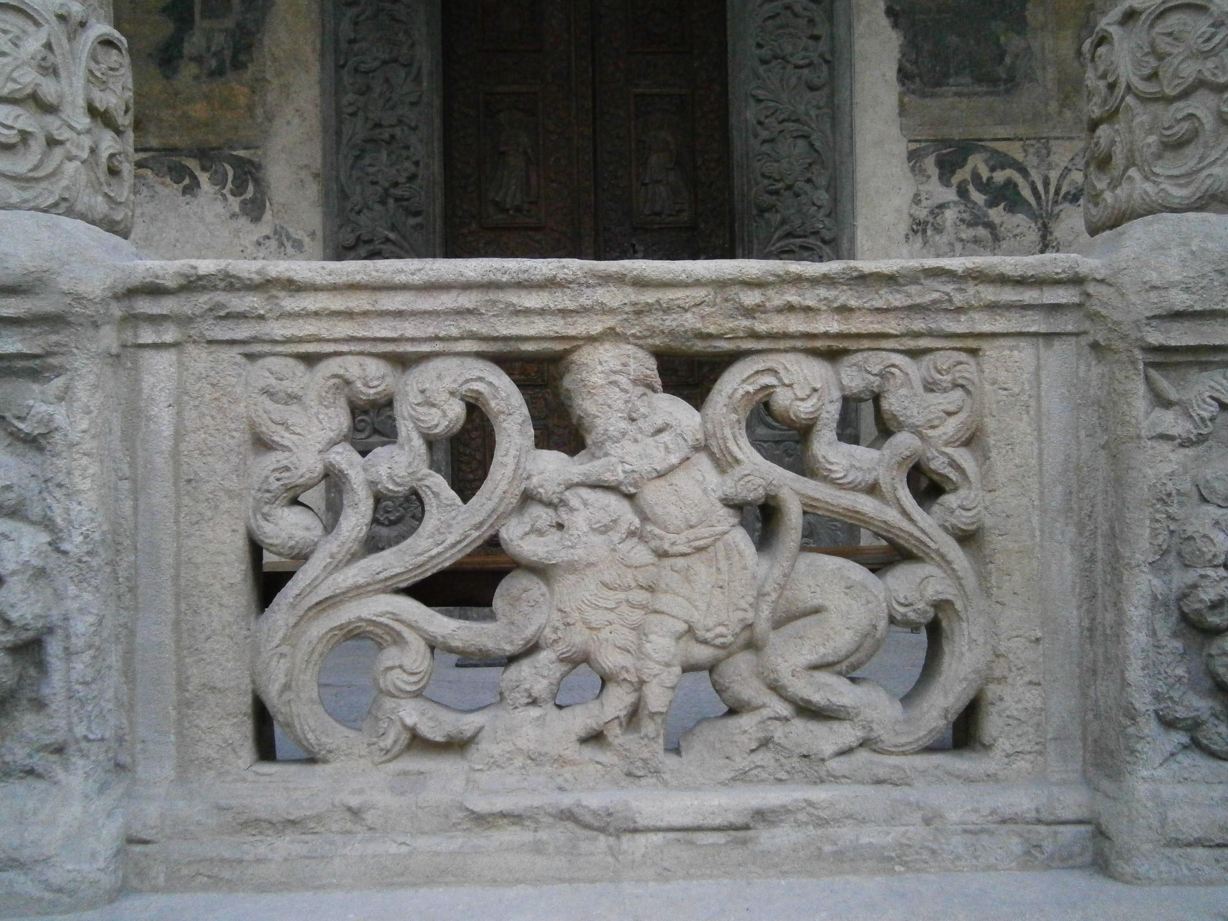 detaliu biserica Stavropoleos3