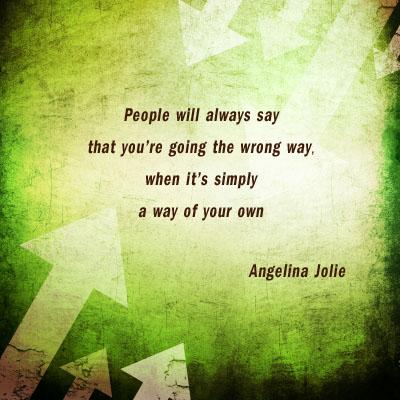 people - wrong way