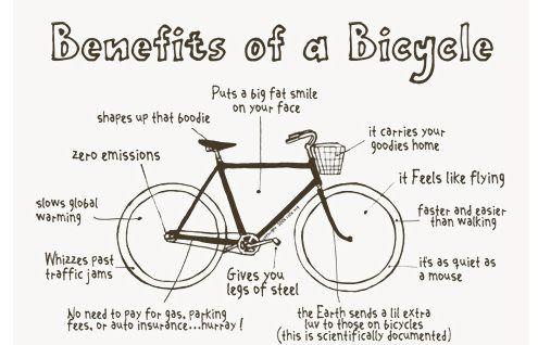 beneficiile bicicletei