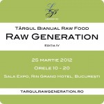 Târgul Raw Vegan Generation, Bucureşti, 25 martie 2012