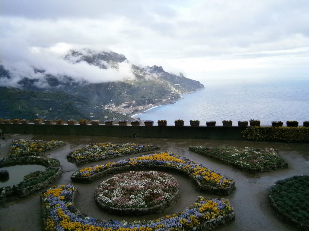 villa rufolo - vedere spre mare