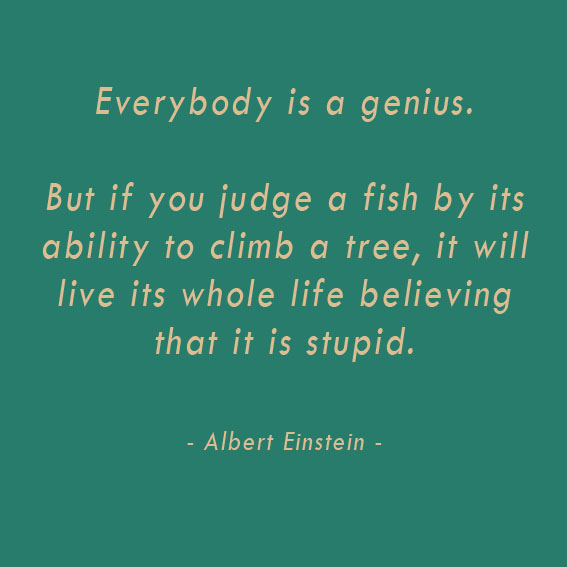 everybody is a genius