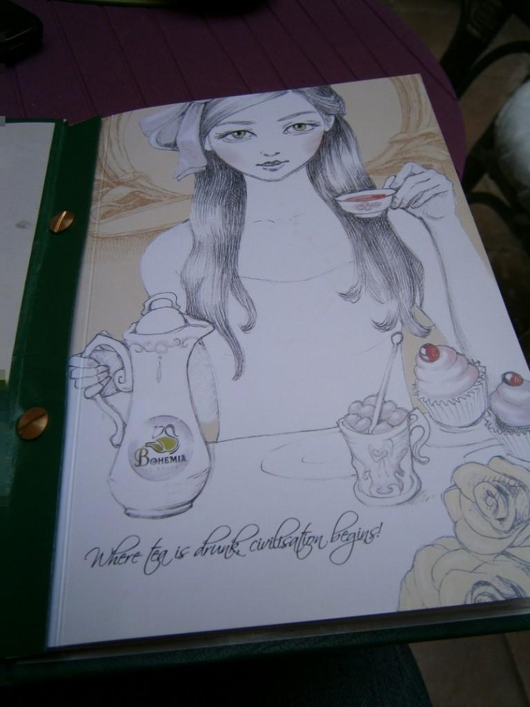 meniu bohemia tea house