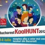 Noaptea albă a celor mai kool localuri din Bucureşti – 14 iulie 2012