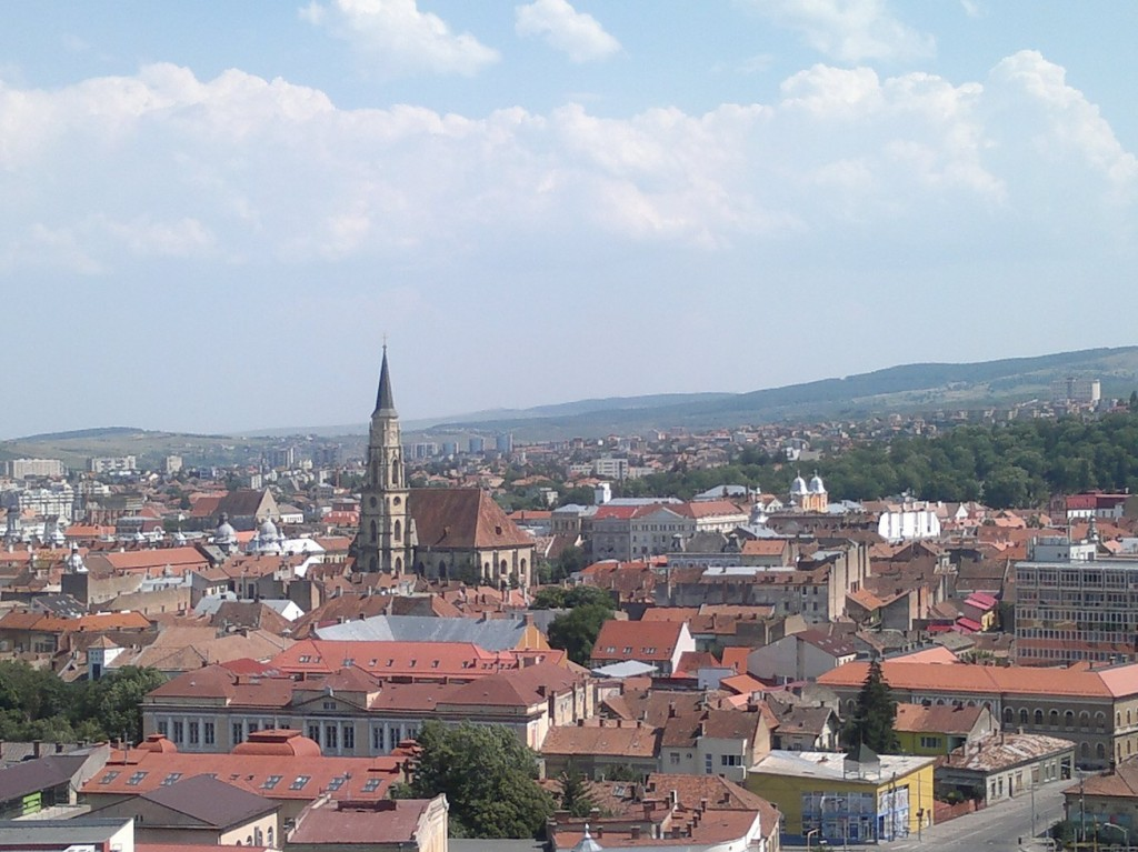 cluj vedere panoramica