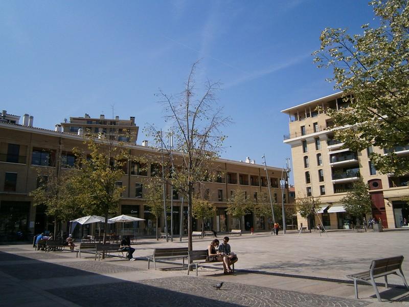 Aix en Provence piata