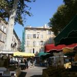 Miercurea fără cuvinte: Târg în Aix en Provence