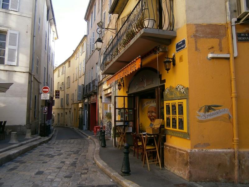 Aix en Provence strada