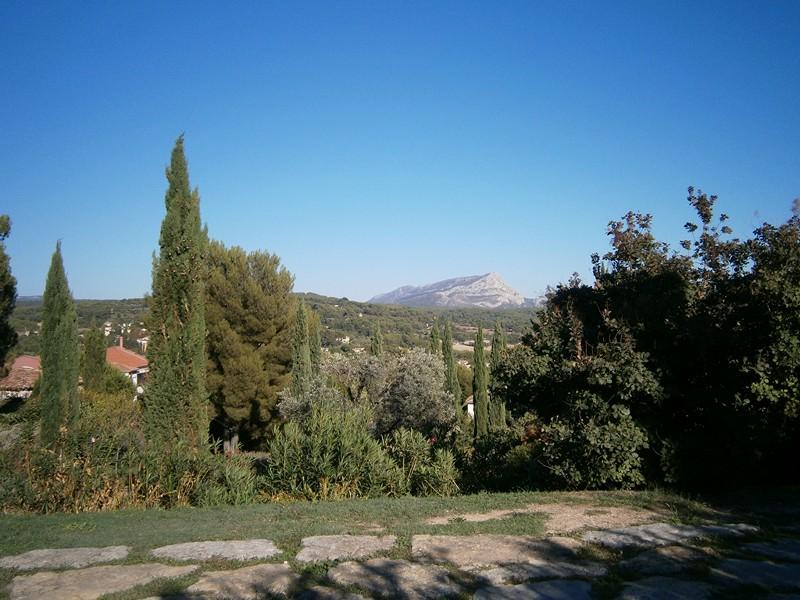 Aix en Provence - Mt. Sainte Victoire vazut de pe Terrain des Peintres