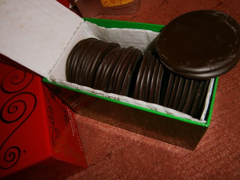 discuri de ciocolata neagra - Biscuit.ro