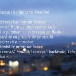 7 lucruri de făcut în Istanbul