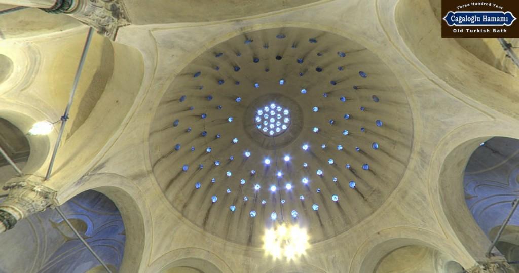 cupola cagaloglu hamam istanbul