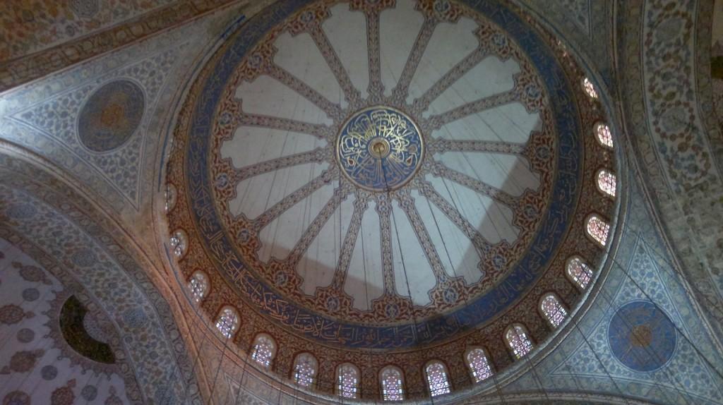 moscheea albastra cupola