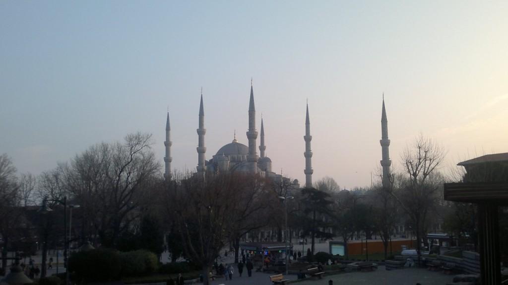 moscheea albastra - sultanahmet