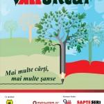 Campania vALLuntar, ediţia a doua: cărţi şi copaci