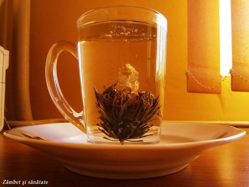 ceaiul care înfloreşte