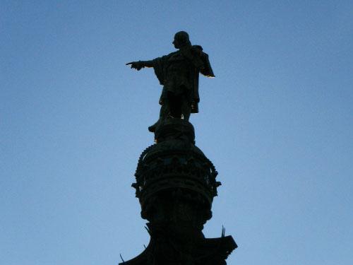 statuie-cristofor-columb-barcelona