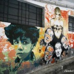 Expoziţie de artă contemporană în Parcarea Ciclop din Bucureşti