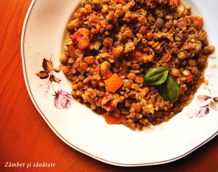 mancare-de-linte-cu-quinoa