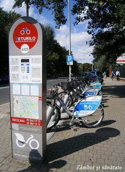 veturilo-inchiriat-biciclete-in-varsovia