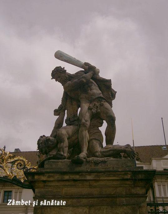 statuie-la-castelul-praga