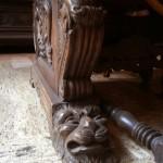 Muzeul Minovici - detaliu mobilier