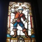 Muzeul Minovici - vitraliu