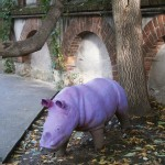 Rinocerul mov de la Voila Bistrot
