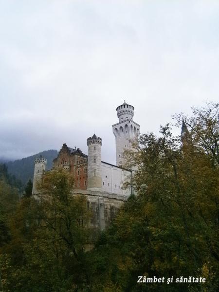 spre castelul Neuschwanstein