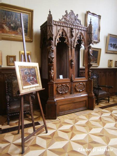 dulap-gotic-muzeul-theodor-aman-bucuresti.