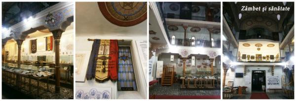 muzeul comunitatii evreiesti interior