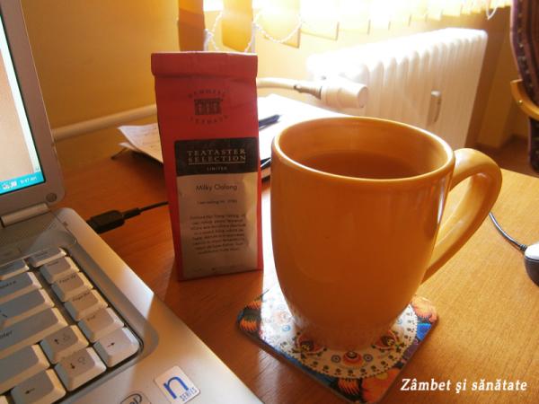 ceai milky oolong