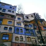 Casa Hundertwasser viena ferestre