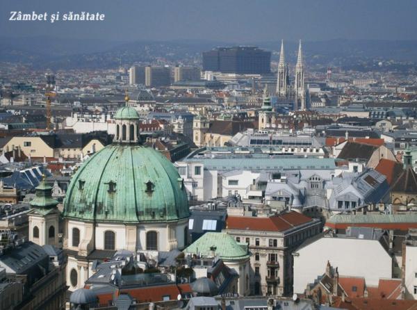 Viena Catedrala Sfantul Stefan panorama