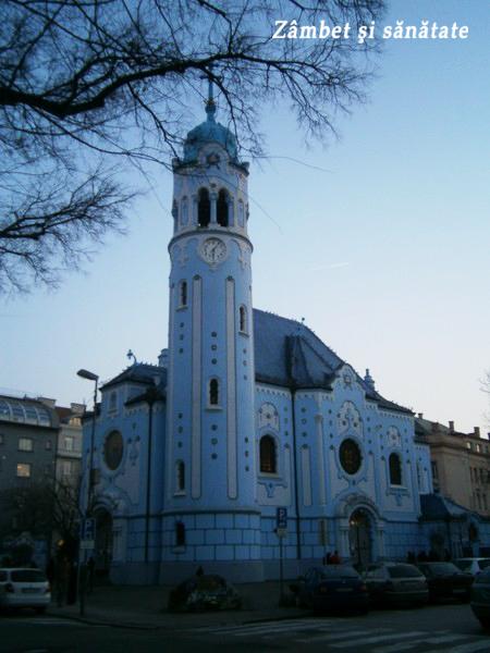 bratislava biserica albastra