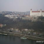 bratislava panorama castel