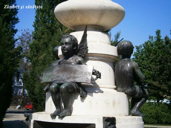 detaliu-statuie-luigi-cazzavillan-parc-bucuresti