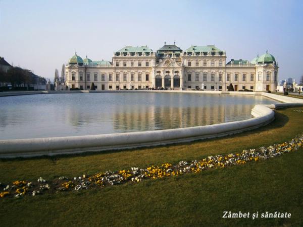 palatul belvedere viena