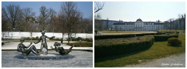 palatul prezidential si gradina bratislava