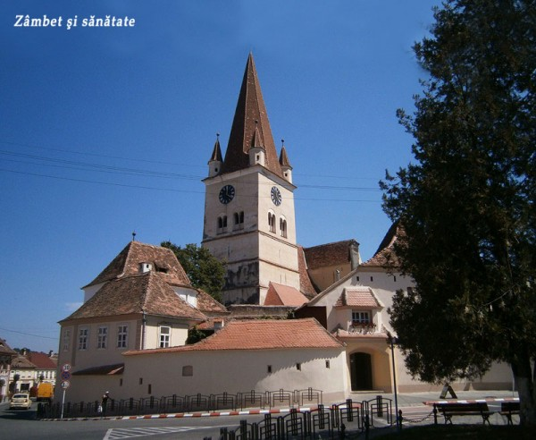 biserica fortificata cisnadie