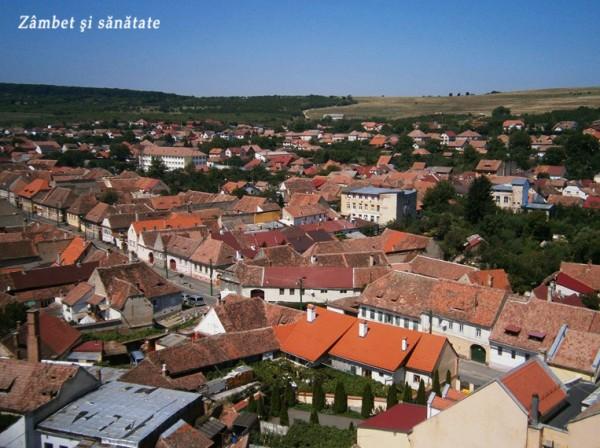biserica-fortificata-cisnadie-priveliste