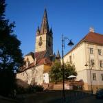 Catedrala Evanghelică din Sibiu şi turnul care mi-a pus capac