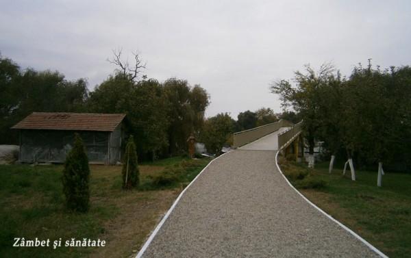 manastirea-snagov-drum