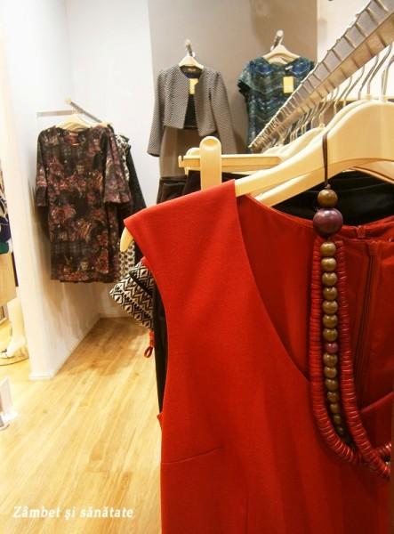 rochie rosie ataellier