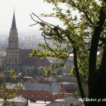Cluj-Napoca: panorama de pe Cetăţuie