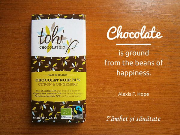 Chocolate is ground from the beans of happiness. - Alexis F. Hope