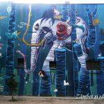Artă urbană pe străzile din Belgrad