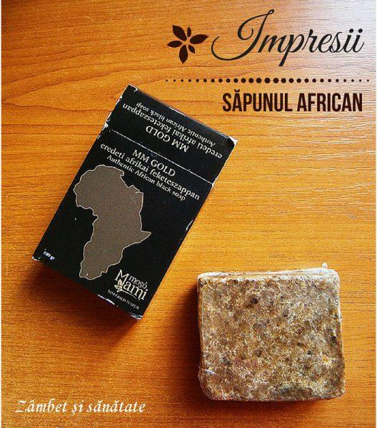 impresii sapun african