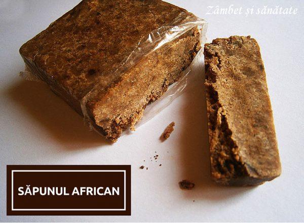 sapun african negru